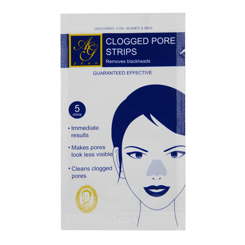 AG2000 CLOGGED PORE STRIPS (1 PACK - 10 PCS)